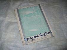 SPRAZZI E BAGLIORI EDIZ.MAGNETI MARELLI N.1 1935 RADIO TELEVISIONE FUTURISMO