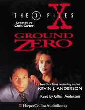 X-Files-Ground Zero - Kevin J. Anderson Read by Gillian Anderson [2 x Cassettes]