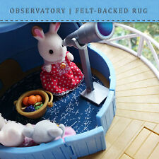 CUSTOM FELT-BACKED OBSERVATORY RUG | FIELD VIEW MILL | Sylvanian Families