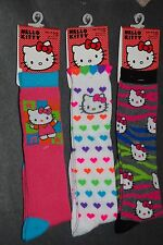 Hello Kitty, Knee Hi Socks (3 Pair) NEW Girls 6-8
