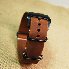 Replacement for Garmin Fenix 3 Watch Band Strap crazy horse leather
