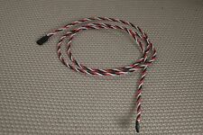 """3DRCPARTS 52"""" SUPER HEAVY DUTY 20AWG TWISTED WIRE SERVO EXTENSION US SELLER"""