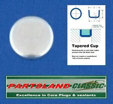 Quality HD Cup Core plug 24mm 15/16 Cadmium Plated x 1