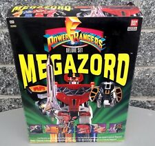 1993#Megazord Mighty Morphin Power Rangers Deluxe Set Sealed Box