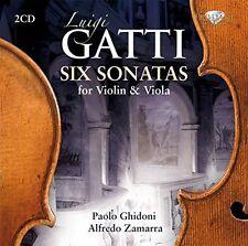 Luigi GATTI  Six Sonatas for VIOLIN & VIOLA - 2 x CD's