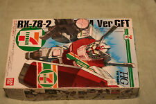 GUNDAM RX-78-2 VER.GFT   SEVEN ELEVEN LTD EDITION 1/144 scale PLASTIC MODEL KIT