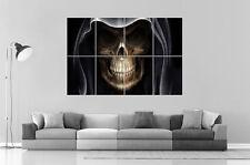 TETE DE MORT SKULL SORCIER Wall Art Poster Grand format A0 Large Print
