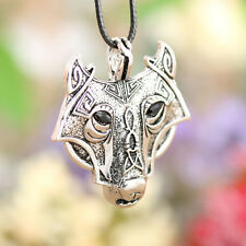 New Arrival Nordic Vikings Wolf Head Pendant Necklace Original Animal jewelry