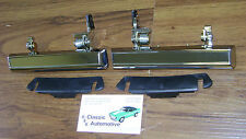 Door Handles 71 72 73 74 75 Impala Caprice Outside Pair Biscayne Bel Air 6 1/4""