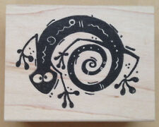 Mounted Rubber Stamps, Southwest, Southwestern, Gecko, Lizard Stamps, Reptiles
