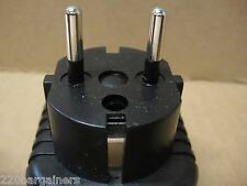 US American to EU European Adapter Plug Converter 5mm Round Prong