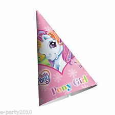 MY LITTLE PONY Sunny Daze CONE HATS (8) ~ Girl Birthday Party Supplies Favors