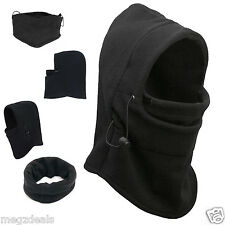 Thermal Fleece Balaclava Hood Winter Sports Ski Mask Neck Face Mask Hat Masks