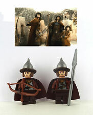figurine Lego The Hobbit - Custom Dale Soldiers x2  - 79013  - 79017  - 79018