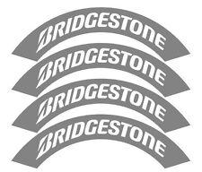 4x BRIDGESTONE tyre stencils, idlers, fatlace, RWB,drift
