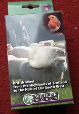 WOOL REFILL PACK.NATURAL WOOL FIBRES FOR NESTING BIRDS.
