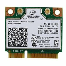Intel 7260HMW Dual Band WiFi+Bluetooth 4.0 Half PCI-e wireless-AC 867M Wlan Card