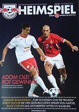 Programm UEFA CL 2010/11 FC Salzburg - Hapoel Tel Aviv