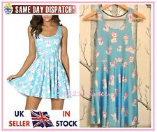 Marie il Aristocats Skater Dress (latte Disney Nero Baby Blue MARIA GATTO GATTINO)