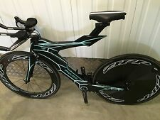 New Futuristic £7000 FALCO V TT Triathlon Di2 (Shiv Bars P5 Stem) £5k