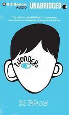 Wonder by R. J. Palacio (2014, MP3 CD, Unabridged)
