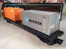 Weaver U4705 - Baltimore and Ohio B&O Flatcar w/ Containers w/ Box
