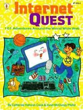 Internet Quest: 101 Adventures Around the World Wide Web-ExLibrary