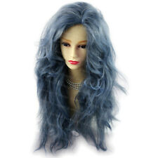 SEXY Untamed Long Curly Green Blue Red Blonde Brown Black Ladies Wigs WIWIGS UK