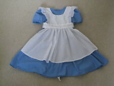 Handmade Alice in Wonderland Girls Costume Dress 3t 4t 5 6 7 8