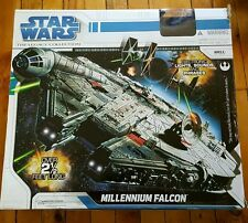 2008 STAR WARS Legacy Collection MILLENNIUM FALCON 2.5 FEET Han Solo box WORKS