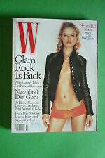 W MAGAZINE OCTOBER 1998 CAROLYN MURPHY SUSAN MINOT NORSE CODE BY BRUCE WEBER