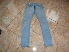 H3373 Levis 513 Jeans W30 Hellblau  mit Mängeln