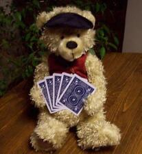 BOYDS BEAR,  ACE BERRIMAN, PLAYING POKER, CARDS