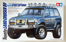 TAMIYA #24122 1/24 Toyota Land Cruiser 80 with sports options scale model kit