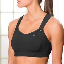 Moving Comfort Juno Sports Bra 38 DD black Retail $60