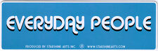 Everyday People - Magnetic Small Bumper Sticker / Decal Magnet
