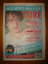 MELODY MAKER 1992 SEP 5 THE CURE HAPPY MONDAYS NIRVANA