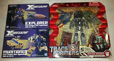 TRANSFORMERS - NEW Complete Set Target Bruticus & Fansproject Crossfire Add-ons