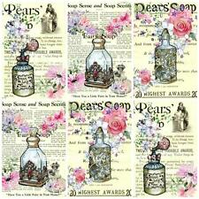 12 Vintage Perfume ideal for Journaling/Toppers/Cards/Scrap Page/Altered Art