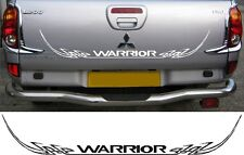 Mitsubishi L200 Warrior Barbarian tribal rear decal sticker graphic