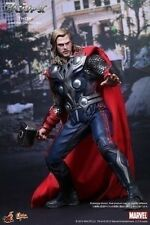 Used Movie Masterpiece Avengers Thor 1/6 Scale Hot Toys Figure