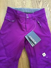 DC Skiing Snowboarding Trousers Kids, Girls Purple/pink 10-12 Years