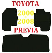 Toyota Previa Deluxe Quality Tailored Car mats 2005 2006 2007 2008