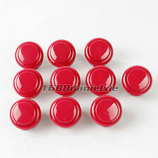 10x OEM 24mm PushButton Replacement For Sanwa OBSF-24 Buttons Arcade Mame Game