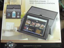 Berkshire Reading Stand Charging Station  iPod - iPhone - iPad - Tablet - e Book