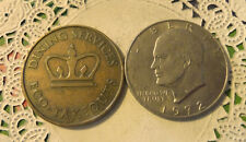 Commerative large/dollar size /heavy medal/Token /ECO  #155