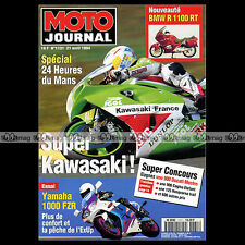 MOTO JOURNAL N°1131 24 HEURES DU MANS, BMW R 1100 RT, STEPHANE PETERHANSEL 1994
