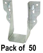 (50) ea Simpson Strong Tie LU24 2 x 4 20 Gauge Galvanized Joist Hangers