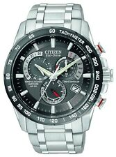 Citizen Men's Eco-Drive Perpetual Chrono Watch AT4008-51E