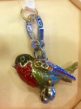 NWOT RARE Juicy Couture 2011 RED ROBIN Charm HTF!!!! YJRU5142